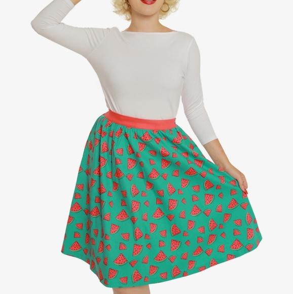 Martine 8-18 Print Swing Skirt Lindy Bop Pink Western Pin up Desert PLUS $5off